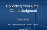 Judgment Enforcement Video