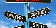 Signpost to divorce