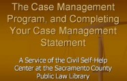 Case Management video