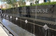Federal Courthouse fountain