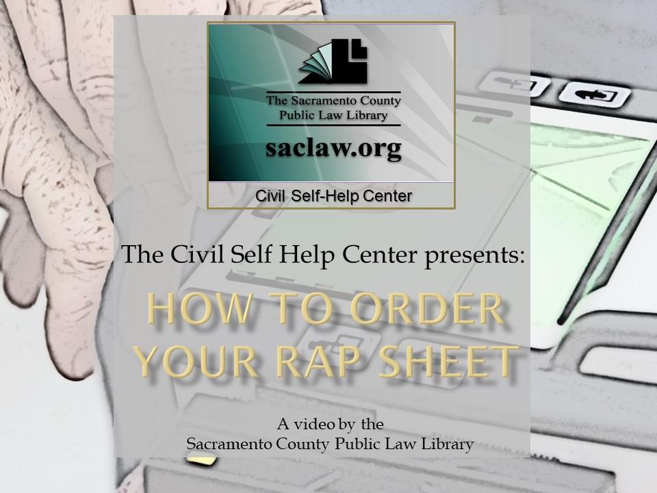 Rap Sheet Video