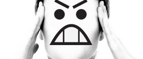 woman-Cartoon face-unhappy-image